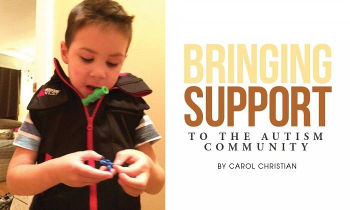 Bringing Support to the Autism Community