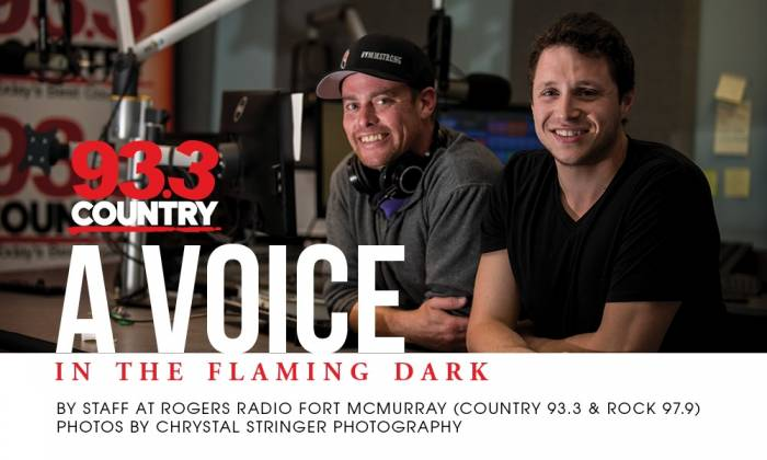 Country 93.3 - A Voice in the Flaming Dark