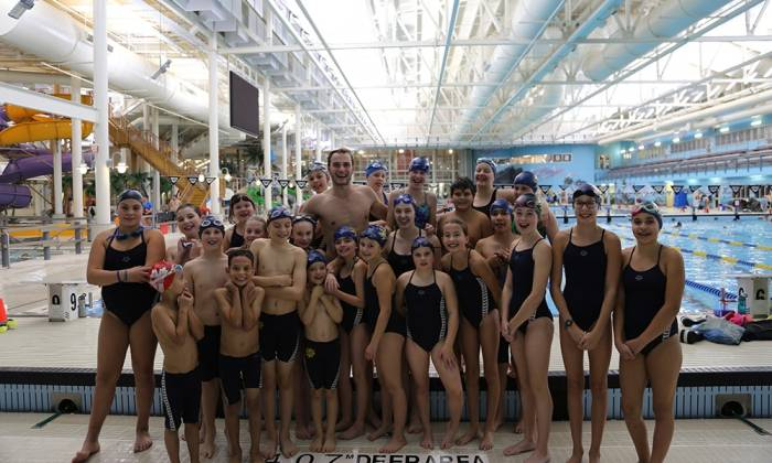 45 Years For The Fort McMurray Swim Club