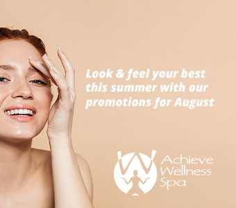 Achieve Wellness Spa August 2019