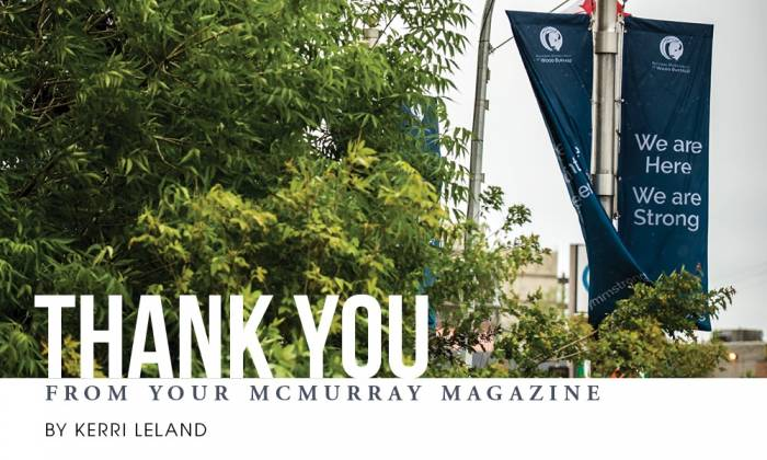 Thank You From Your McMurray Magazine