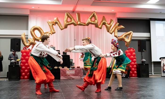 Ukrainian Cultural Society Celebrates Malanka and 40th Anniversary