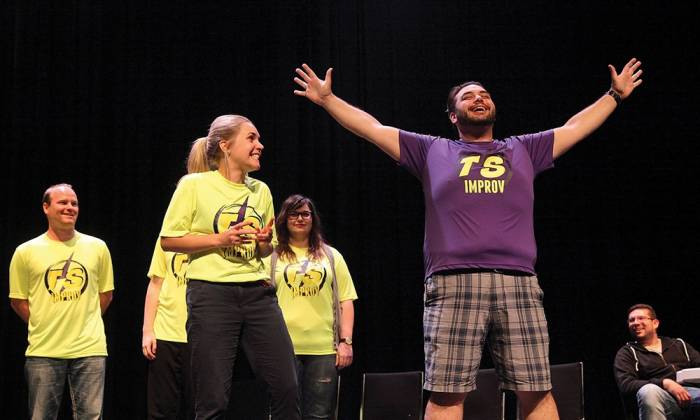 Behind the Curtain at Keyano Theatre - Improv: Off the Cuff Entertainment