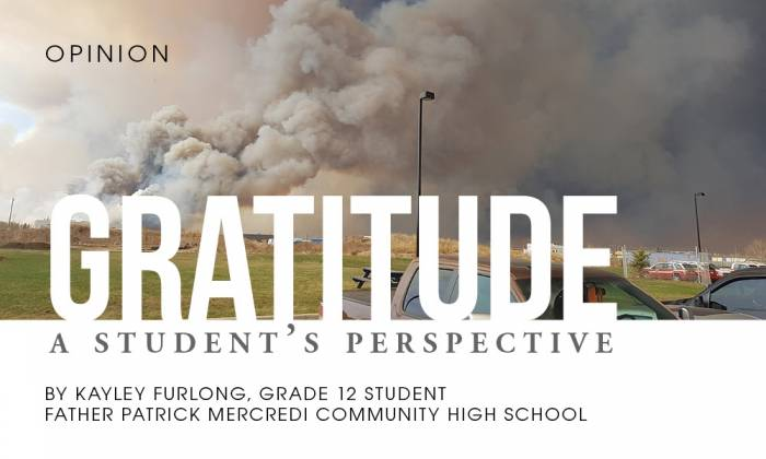 Gratitude: A Student's Perspective