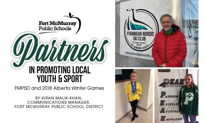 Partners in Promoting Local Youth & Sport - Fort McMurray Public Schools and 2018 Alberta Winter Games