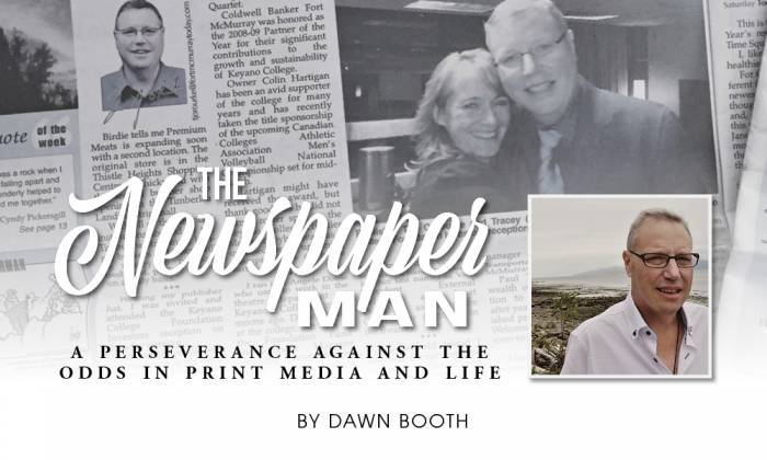 The Newspaper Man: A Perseverance Against the Odds in Print Media and Life