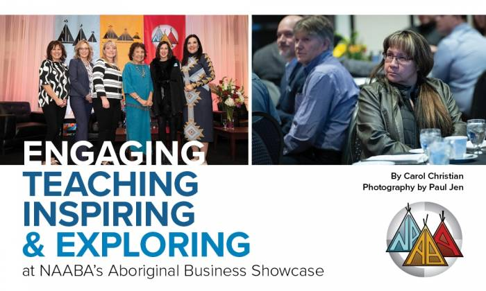 Engaging, Teaching, Inspiring, and Exploring at NAABA's Aboriginal Business Showcase
