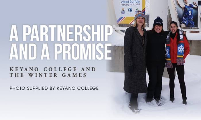 A Partnership and a Promise: Keyano College and the Winter Games
