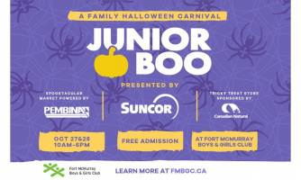 It's autumn which means Junior Boo – A Weekend of Boo is back!