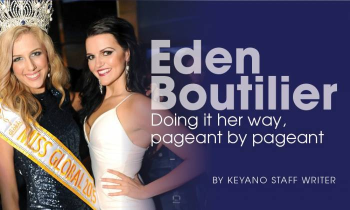 Eden Boutilier: Doing it her way, pageant by pageant