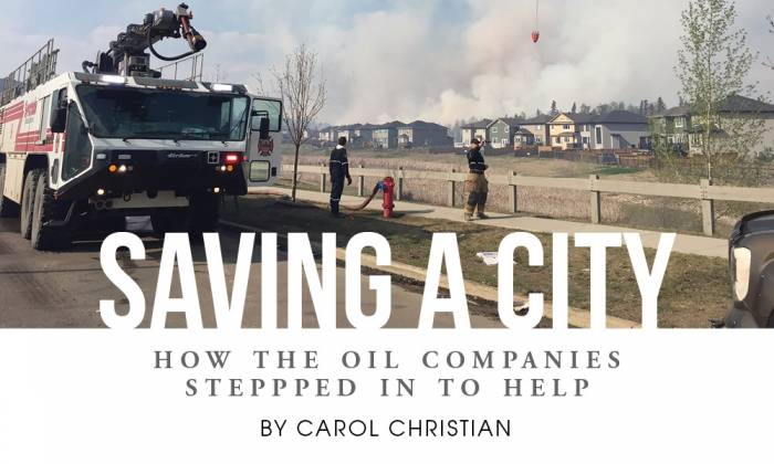 Saving a City - How The Oil Companies Stepped In To Help