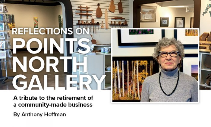 YMM Small Business Insider - Reflections on Points North Gallery