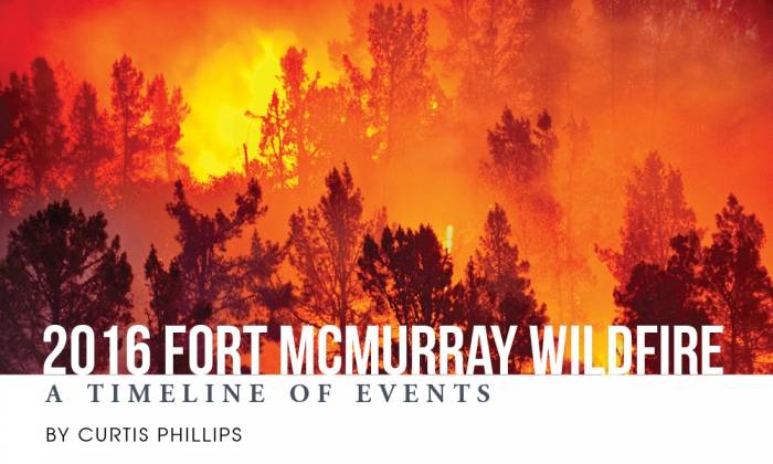 2016 Fort McMurray Wildfire - A Timeline of Events