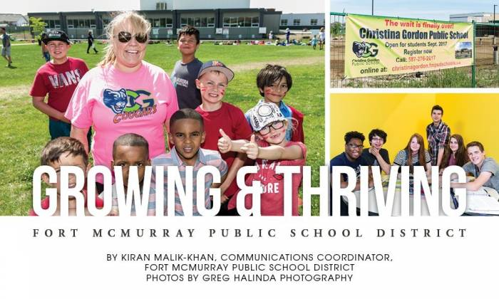 Growing & Thriving: Fort McMurray Public School District