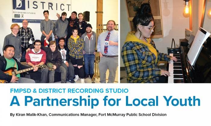 FMPSD and District Recording Studio: A Partnership for Local Youth